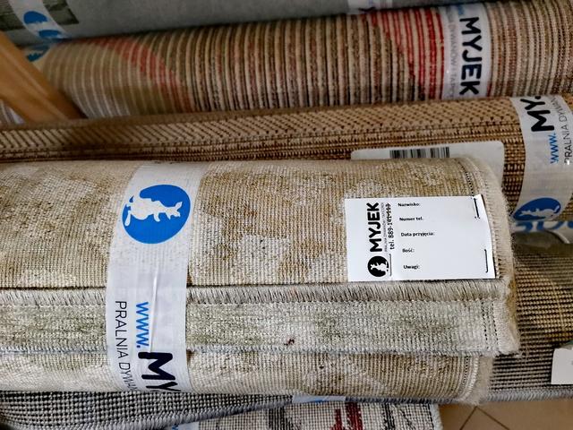 Pranie dywanów w czasie epidemii koronawirusa.